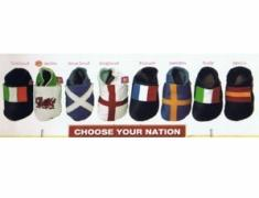 National Flags Baby Shoes
