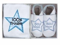 100 percent trouble gift set