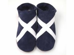 flag scottish saltaire slippers