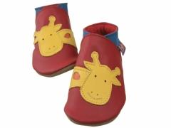 george giraffe baby shoes in red