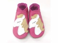 soft leather baby girls horse