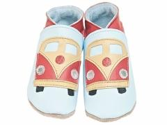 soft leather baby shoes VW camper van