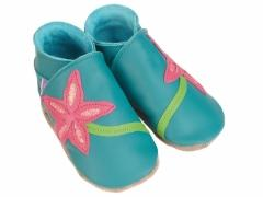 stargazer baby shoes in jade