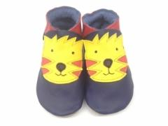 Tiger soft leather baby shoe