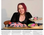 Starchild feature in the Leicester Mercury
